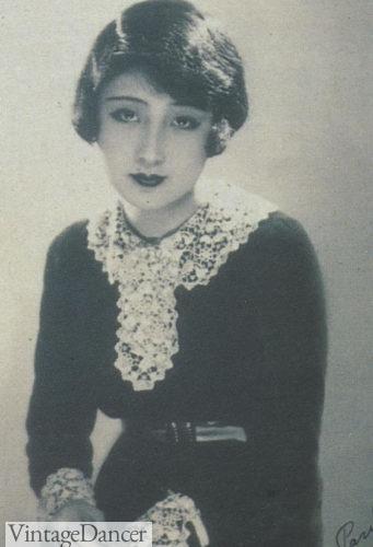 1920s Asian hair Japanese bob