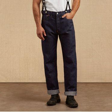 Levis 1933 reproduction blue jeans