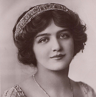 Lily Elsie makeup Edwardian era beauty inspiration at VintageDancer