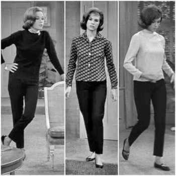 Mary Tyler Moore, queen of the 60s pant