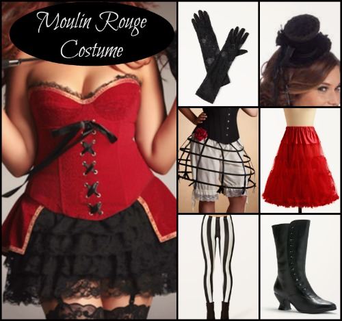 moulin rogue halloween costume