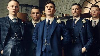 Peaky Blinder cast in 20s Gentlemen's Fashion Suits - get the look on VintageDancer