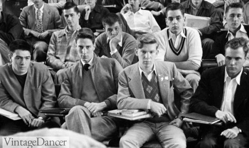 Ivy League Style. 1950 Students at Princeton