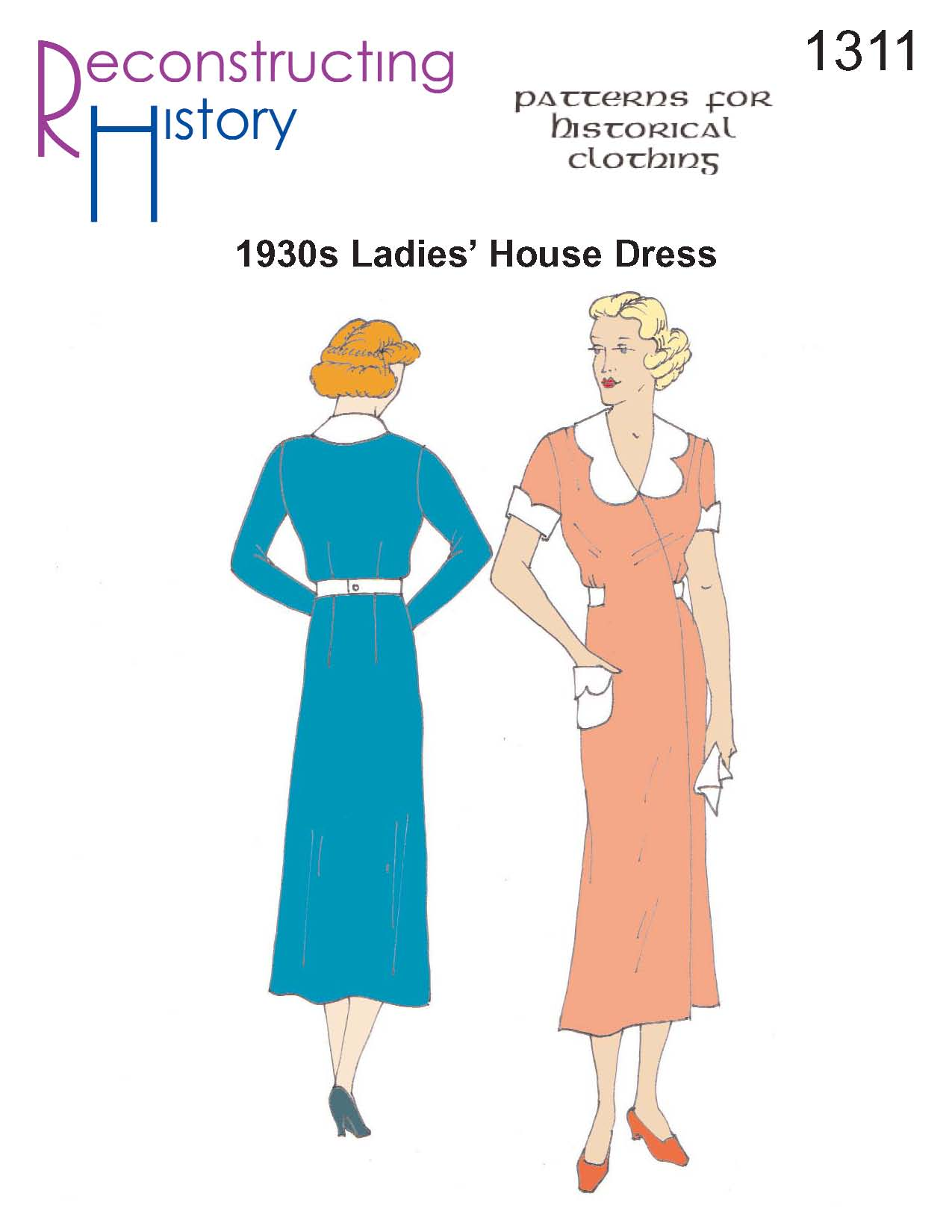 Reproduction Vintage Sewing Patterns: Victorian to 1960s