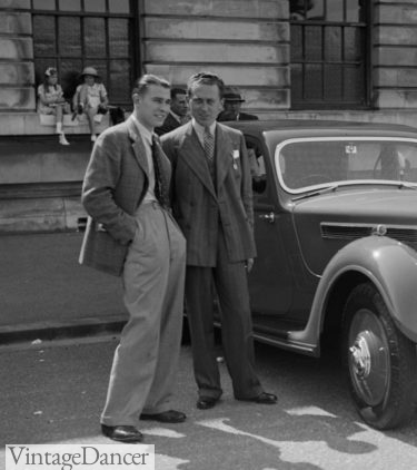 1930s car show mens outfits clothing vintage