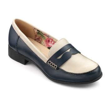 The casual yet smart style of these Sorbet loafers is perfect for a 1960s style.
