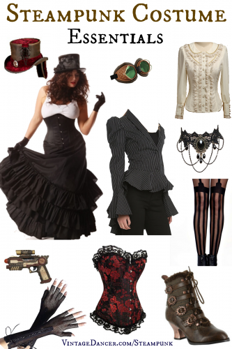 Steampunk Costume Essentials. Click to learn more.