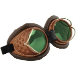 Steampunk goggles accessories
