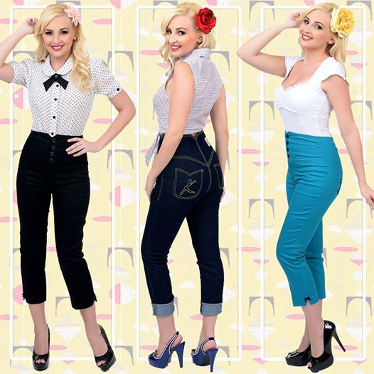 Amazing 50s Womens Fashion Pants Images Amp Pictures  Becuo