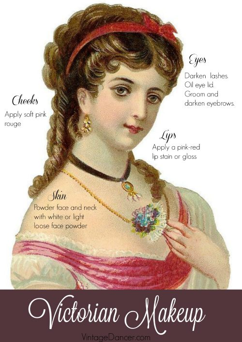 Victorian Makeup Guide, tutorial, history and beauty routines