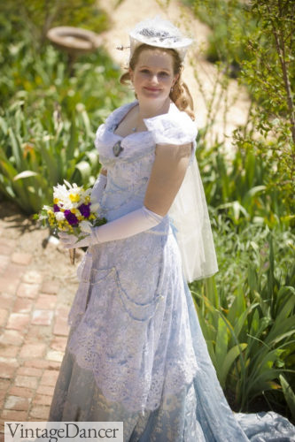 My 1893 Worth dinner gown ball gown turned Victorian wedding dress