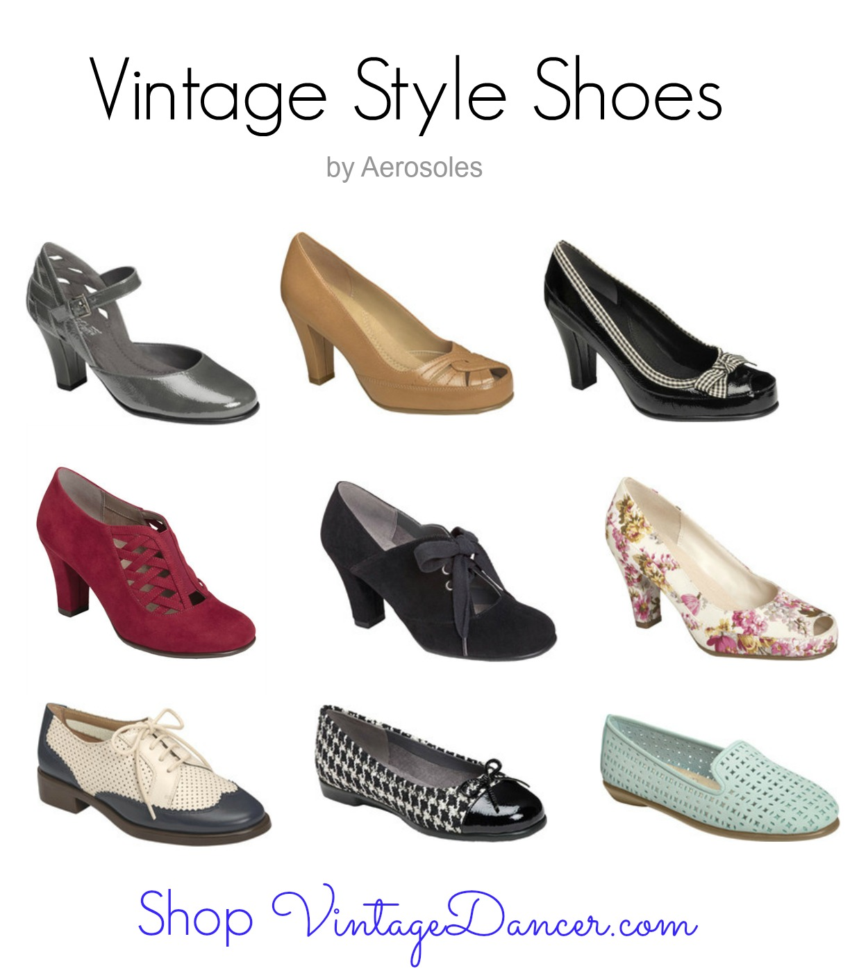 Vintage Style Shoes by Aerosoles