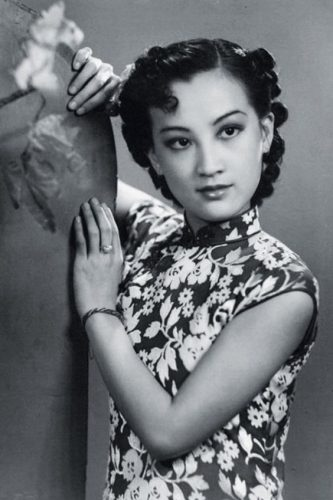 1950s Zhou Xuan's curly 50s hairstyle