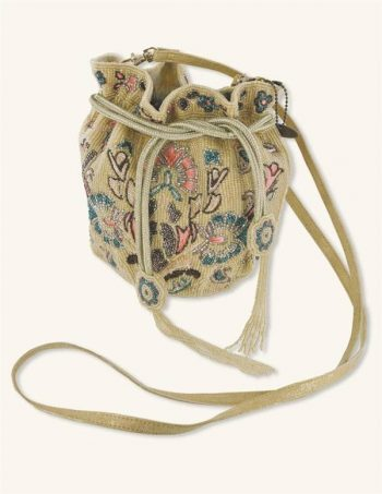Victorian beaded reticule bag from Victorian Trading Co