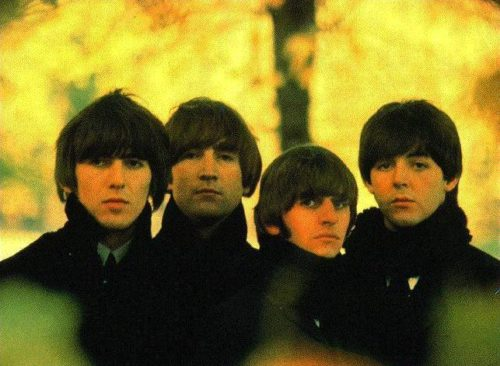 The Beatles 60s mens hairstyles
