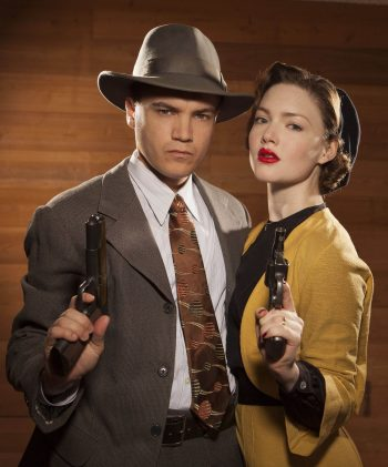 1930s Bonnie & Clyde (Courtesy of A+E Networks)