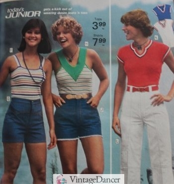 Tank tops 1970s summer casual