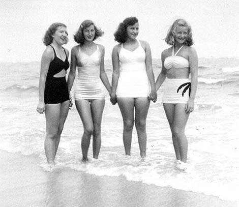 1940s bathing suits