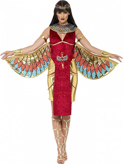 Egyptian queen costume with an Art Deco design - unique 1920s costume idea