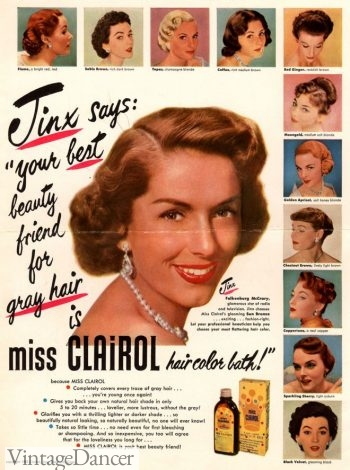 1950s Clairol hair coloring