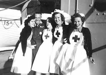 WW2 red cross nurses