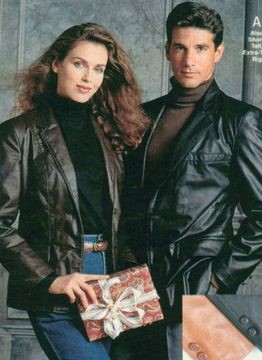 80s leather jackets men women