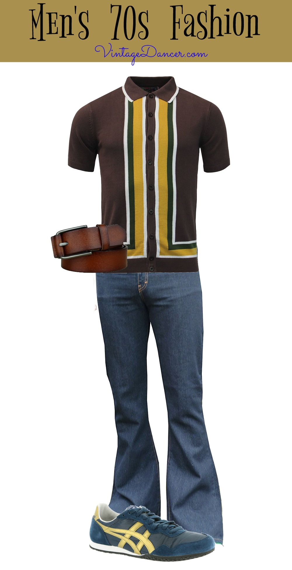 1970s Men's Outfit Inspiration   Costumes Ideas