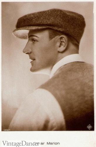 Oskar Marion's cap 1920