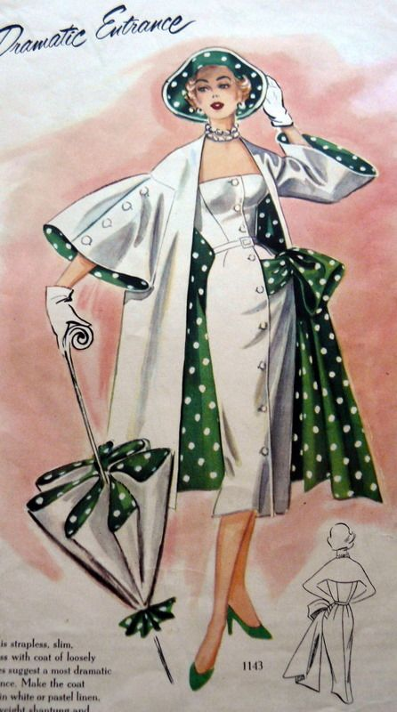 Polka Dot Dresses 20s 30s 40s 50s 60s