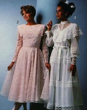1986 lace prom dresses