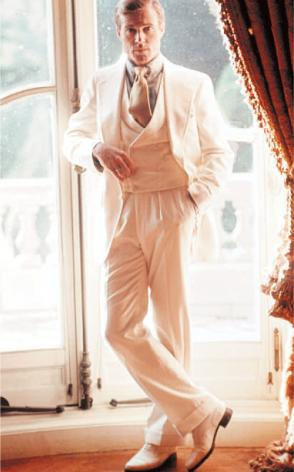 great gatsby suit robert redford