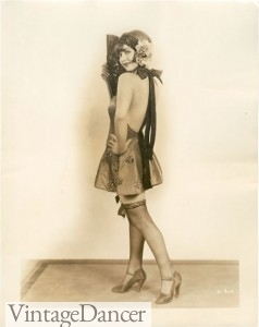 1920s rolled stockings