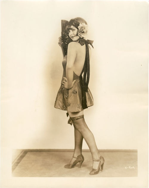 1920s rolled stockings at VintageDancer