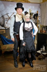 Wild West Steampunk Costume & Toddler Costume