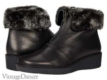 1940s snow boots, new winter boots vintage style