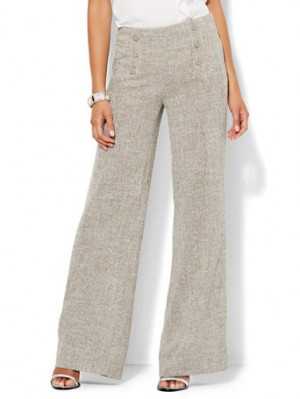 Vintage Style Wide Leg Pants- back in fashion for fall 2015