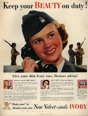 ww2 beauty ad